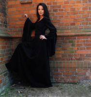 Gothic Kleider Mittelalter Dunkelelfe