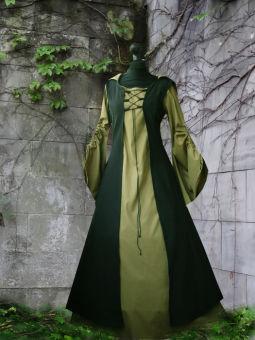 "Mittelalter Kleid ""Rosgilda"" Schürze & Gugel"