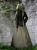 "Schildmaid Kleid"" Saphea"" Mittelalter Kleid Wams Gugel Naturtöne"