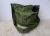 ElefantenTasche grün Filzblume