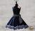 Romantik Petticoatkleid schwarz weiss 50er Polka Dots
