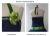 Petticoatkleid Nachtblau & Wiesengrün
