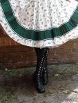 Petticoatkleid 50er Blumentraum & handgefertigt Gr. 38-40