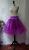 Petticoat Tüll Unterrock dunkelrosa und doppellagig