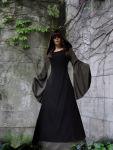 """Gothik Mittelalter-Kleid """"Jolanda"""" Gugelkapuze..."""