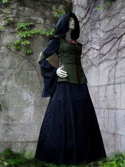 "Schildmaid "" Maarelund"" Mittelalter Kleid Wams Gugel"