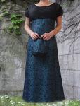 """Edles Taft Mittelalter Kleid """"Elleth"""" mit..."""