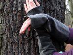 Samt Stulpen Grau Armstulpen