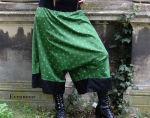 Goahose Aladinhose Jogahose Grün Schwarz