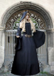 """Gothic Mittelalterkleid """"Zarah"""" Dunkelelfe Elfe..."""