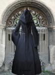 """Gothic Mittelalterkleid """"Zarah"""" Dunkelelfe Elfe Larp"""