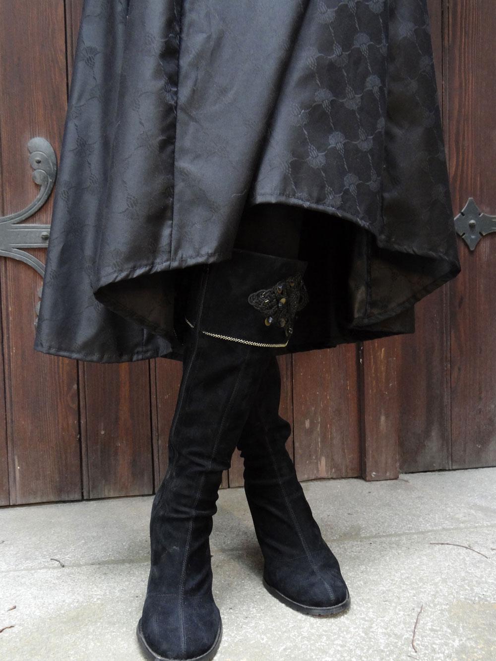 Kapuzenkleid Mittelalter Gothikkleid