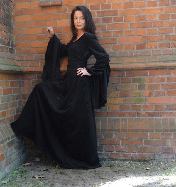 Gothik Kleid Elfenkleid Mittelalterkleid